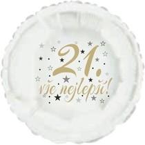 21. narozeniny balónek kruh