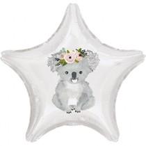 Balónek koala hvězda