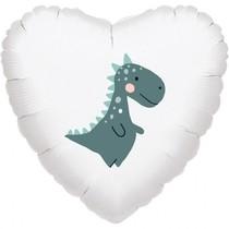 Balónek dinosaurus srdce