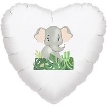 Balónek slon srdce