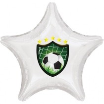 Fotbalový znak balónek hvězda