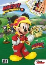 Omalovánky Mickey Mouse a závodnici A5