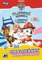 Tlapková patrola omalovánky A5