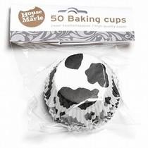 Košíčky Fun Cakes černá kráva 50ks