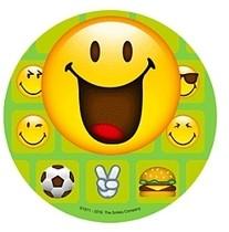 Jedlý papír Smiley 21cm