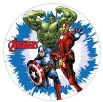 Jedlý papír Avengers 21 cm