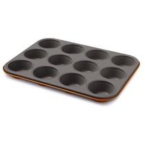 Forma na muffiny 12 ks Guardini oranžová
