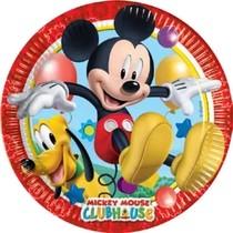 Mickey Mouse talíře 8ks 20cm