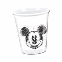 Mickey Mouse kelímky 25ks 200ml