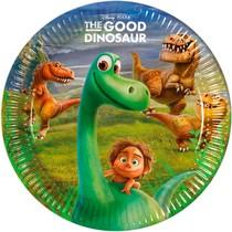 Hodný dinosaurus talíře 23cm 8ks