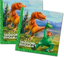 Dobrý dinosaurus ubrousky 20ks 33x33cm