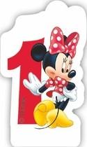 Minnie svíčka narozeniny číslo 1