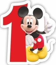 Mickey dortová svíčka číslo 1