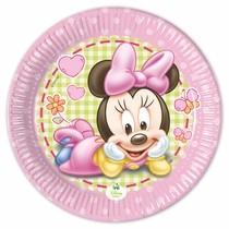 Minnie Baby talíře 8ks 20cm