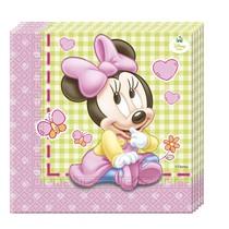 Minnie Baby ubrousky 20ks 33x33cm