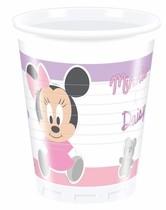 Minnie Baby kelímky 8ks 200ml