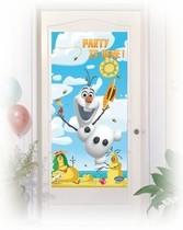 Olaf plakát na dveře 76cm x 152cm