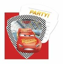 Cars pozvánky na party 6ks