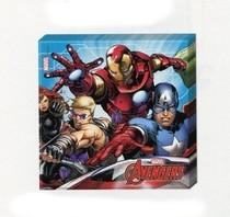 Avengers ubrousky 20ks 2-vrstvé 33cm x 33cm