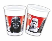 Star Wars kelímky 8ks 200ml