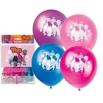 Trollové balónky 8ks 28cm