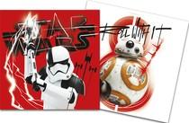 Star Wars ubrousky 20ks 33cm x 33cm