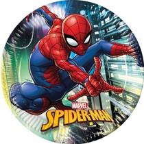 Spiderman talíře 23 cm 8 ks