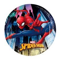 Spiderman talíře 8 ks 20 cm