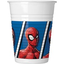 Spiderman kelímky 8 ks 200 ml