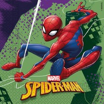 Spiderman ubrousky 20 ks, 33 cm x 33 cm
