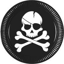 Piráti talíře 8 ks 23 cm