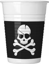 Piráti kelímky 8 ks 200 ml