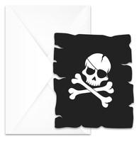 Pirati pozvanky 6 ks