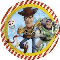Toy Story 4 talíře 8 ks 23 cm