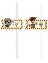 Toy Story 4 papírové slámky na pití 4 ks
