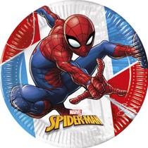 Spiderman talíře papírové 8 ks 23 cm