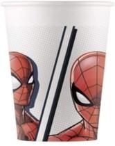 Spiderman kelímky papírové 8 ks 200 ml