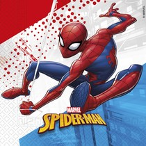 Spiderman ubrousky 20 ks 2-vrstvé 33 cm x 33 cm
