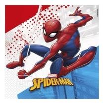 Spiderman ubrousky 20 ks 33 cm x 33 cm 3-vrtsvé