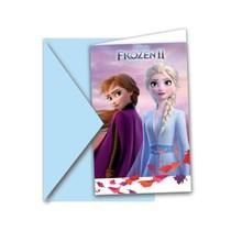 Frozen pozvánky na narozeniny 6ks