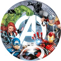 Avengers talíře papírové 8 ks 23 cm