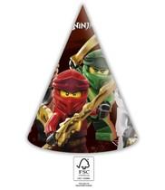 Lego Ninjago čepičky 6 ks