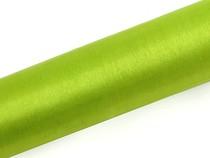 Organza světle zelená 16 cm x 9 m