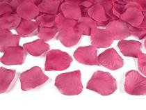 Okvětní lístky růže růžové 100ks