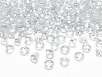 Diamanty průhledné 1,2cm 100ks