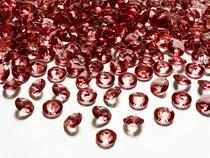Diamanty červené 1,2cm 100ks