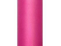 Tyl růžový 0,3 x 9m
