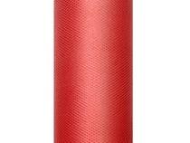 Tyl červený 0,15 x 9m