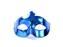 Škraboška modrá