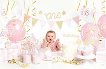 První narozeniny holčička párty set 33 ks